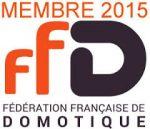 Membre de la fédération française de domotique